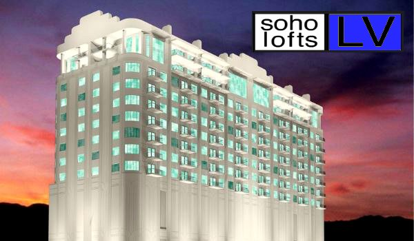 SOHO Downtown Las Vegas Lofts Condos