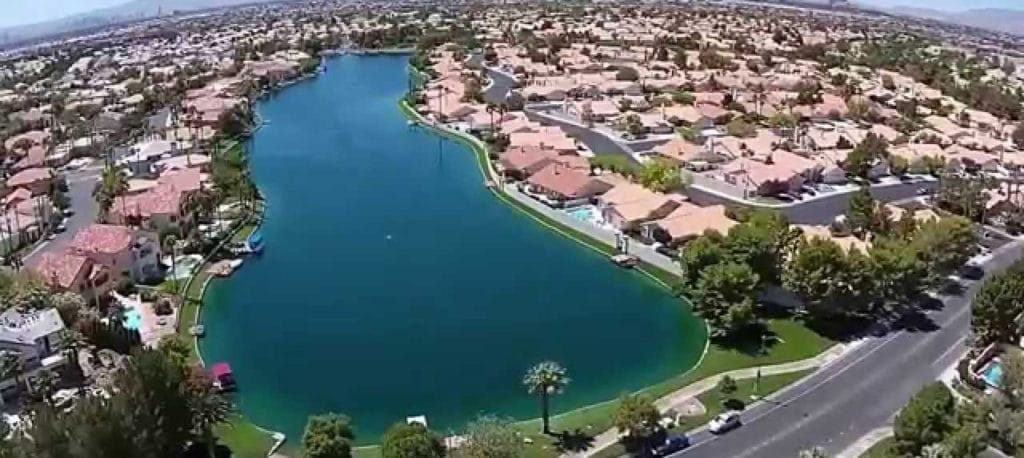 Desert Shores Las Vegas Waterfront homes for sale