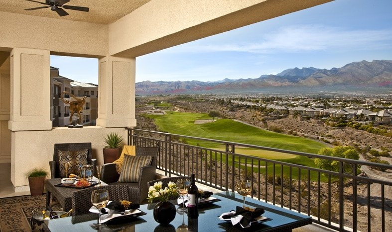 Las Vegas Condos with Golf View