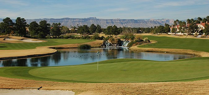 Las Vegas golf course homes in Spanish Trails