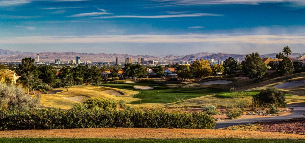 Summerlin Golf Course Homes View