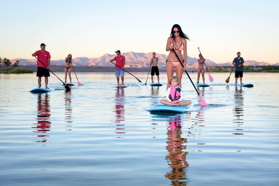 lake las vegas paddle board