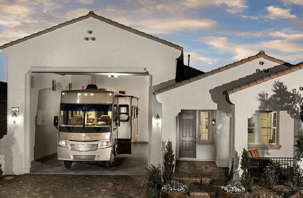 Las Vegas Homes with RV Parking Garages