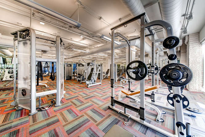 One Las Vegas Condos fitness gym