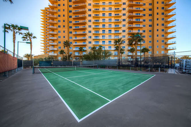 One Las Vegas Condos tennis