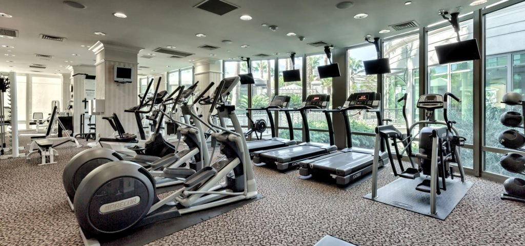 Park Towers Condos Fitness Room