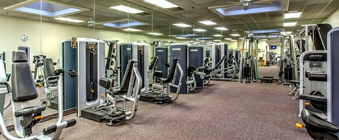 Sun City Summerlin Gym Fitness Room