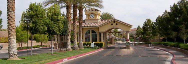las vegas guard gated homes