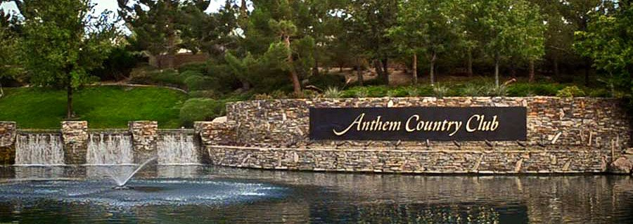 Anthem Country Club Henderson NV