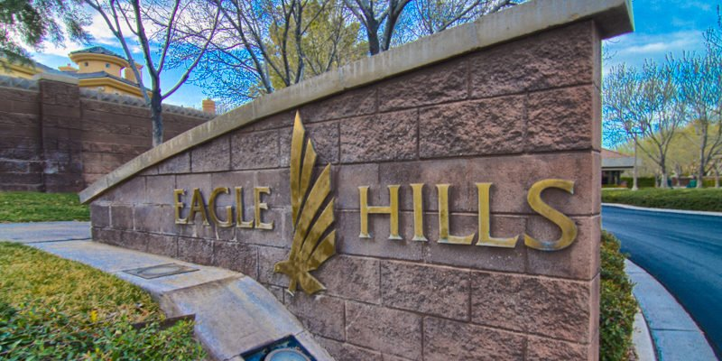 Eagle Hills Las Vegas Homes community