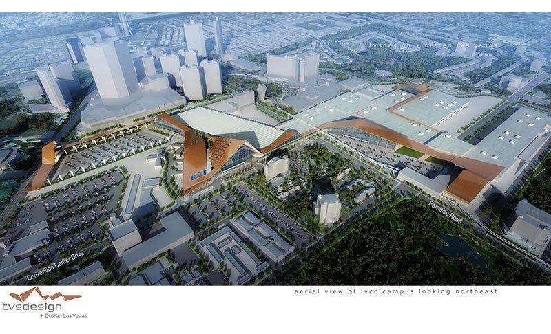 Las Vegas convention center expention
