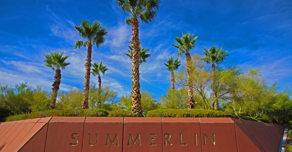Summerlin Homes with a Pool for Sale in Las Vegas
