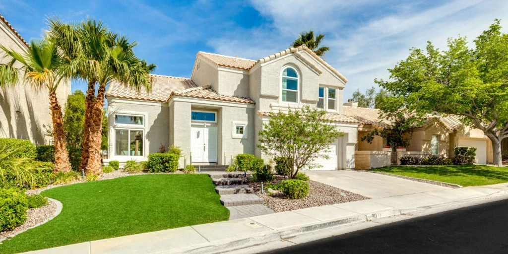 Green Valley Las Vegas community - home