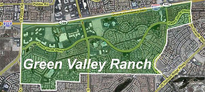 Green Valley Ranch Map