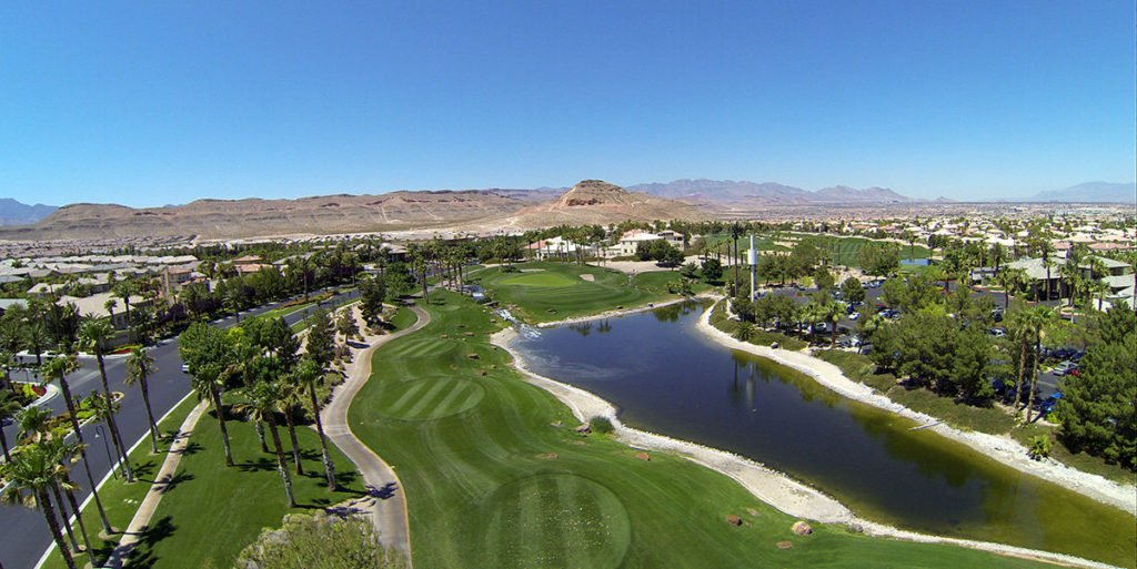 Rhodes Ranch community Las Vegas - Rhodes Ranch Golf Club