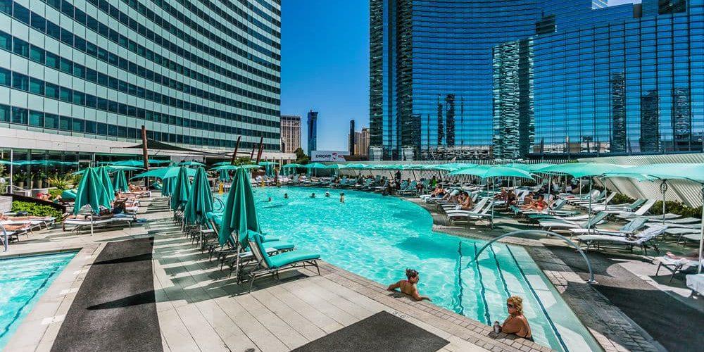Vdara Las Vegas Condos for Sale - pool