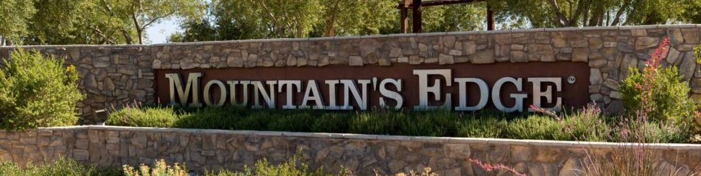 Mountains Edge Master Planned Community Homes for Sale neighborhood