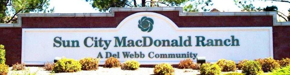 Sun City MacDonald Ranch Community neighborhood