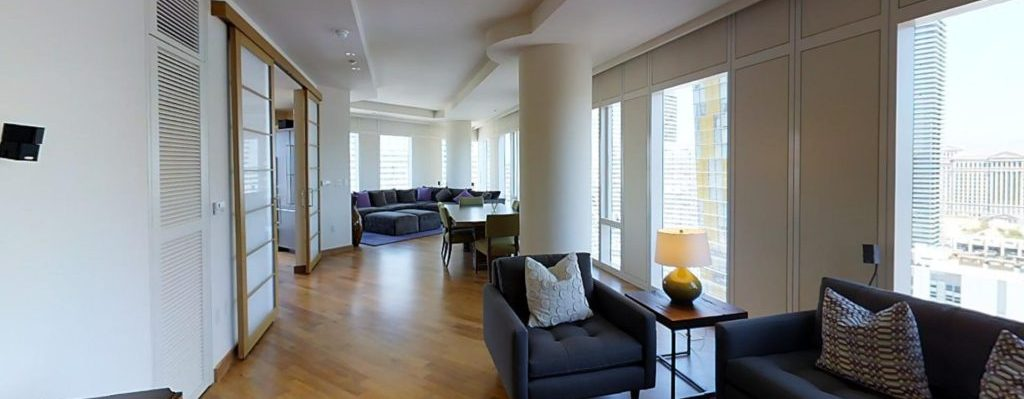 Waldorf Astoria Las Vegas Condos for Sale room view1