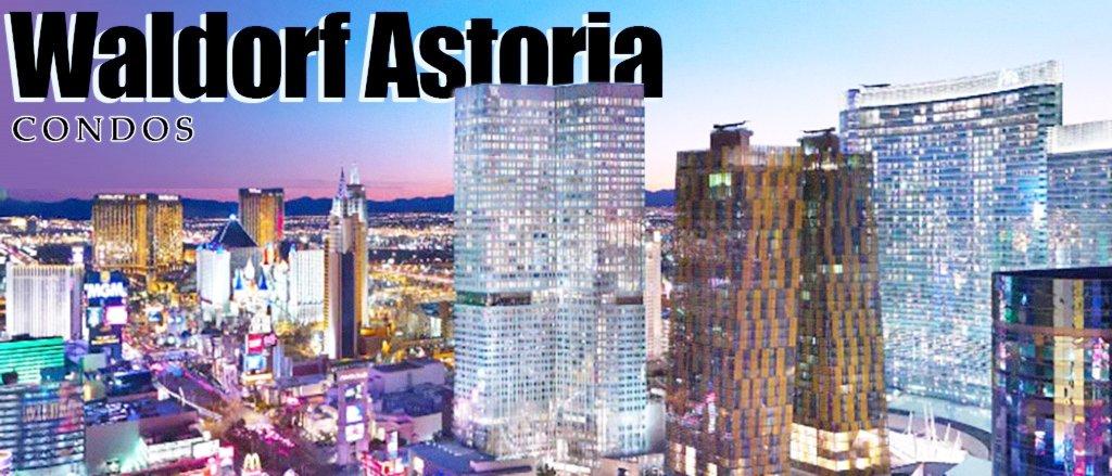 Waldorf Astoria Las Vegas Condos for Sale view