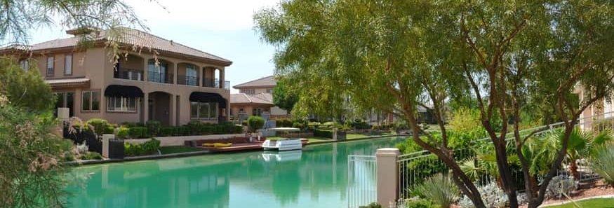 The Lakes community Las Vegas home