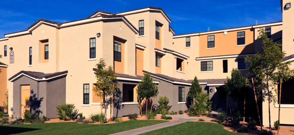Summerlin Townhomes for Sale in Las Vegas front view