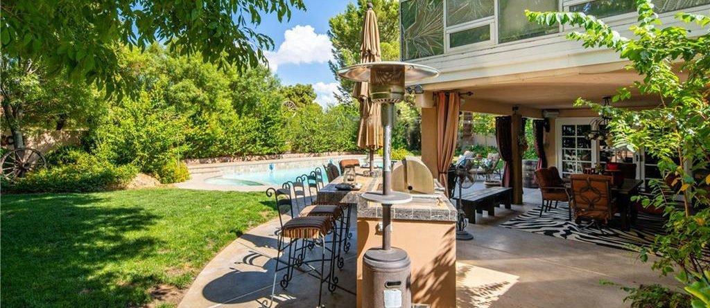 Rancho Bel Air Las Vegas Homes for Sale homes backyard