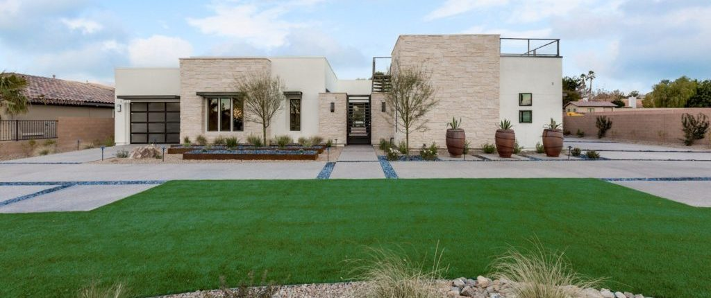Section 10 Las Vegas Homes for Sale homes backyard view