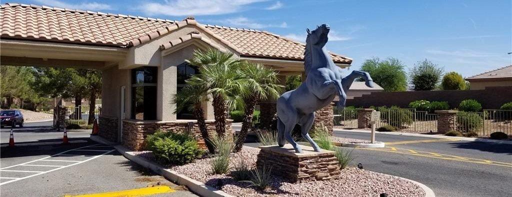 Stallion Mountain Las Vegas Homes for Sale front view