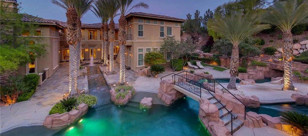 Estates At Southern Highlands Las Vegas Homes for Sale backyard