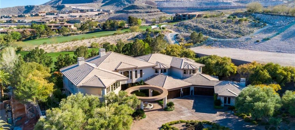 Estates At Southern Highlands Las Vegas Homes for Sale up view