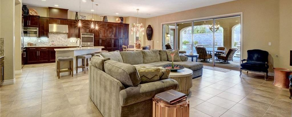 Masters at Southern Highlands Las Vegas Homes for Sale insides kitchen