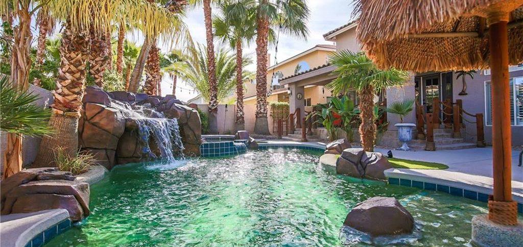 Royal Highlands At Southern Highlands Las Vegas Homes for Sale backyard