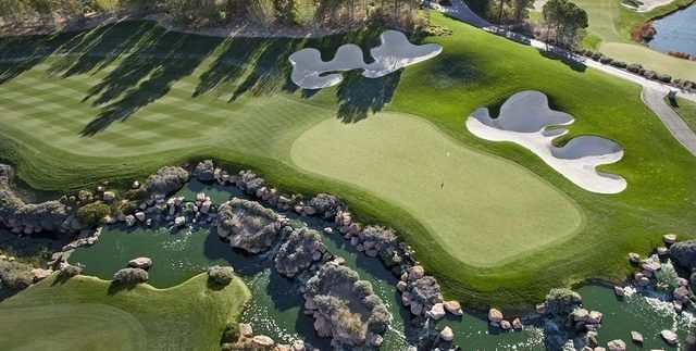 Southern Highlands golf course las vegas